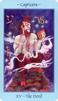 Celestial Tarot Deck - The Devil