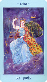 Celestial Tarot Deck - The Enchantress