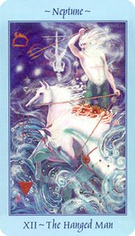 Celestial Tarot Deck - The Hanged Man