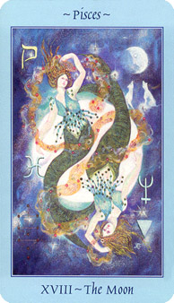 Celestial Tarot Deck - The Moon