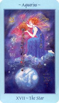 Celestial Tarot Deck - The Star