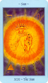Celestial Tarot Deck - The Sun