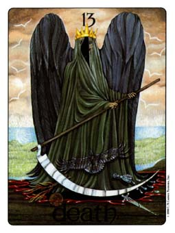 Gill Tarot Deck - The Death