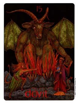 Gill Tarot Deck - The Devil