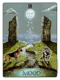 Gill Tarot Deck - The Moon