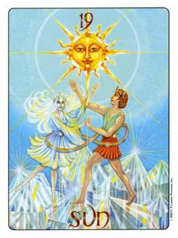 Gill Tarot Deck - The Sun