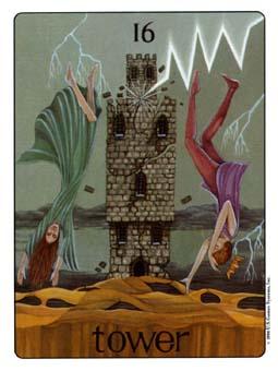 Gill Tarot Deck - The Tower