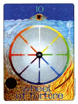 Gill Tarot Deck - The Wheel of Fortune