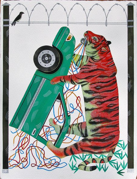 car-wrestling