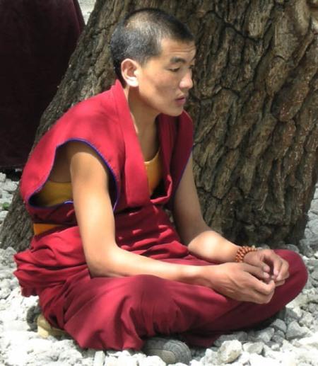 meditating-monk