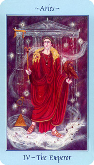 Celestial Tarot Deck - The Emperor