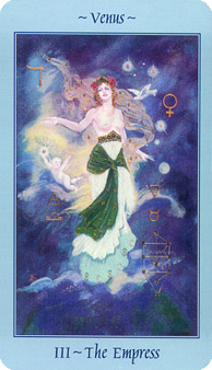Celestial Tarot Deck - The Empress