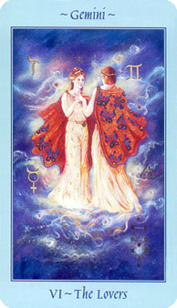 Celestial Tarot Deck - The Lovers