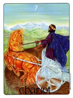 Gill Tarot Deck - The Chariot