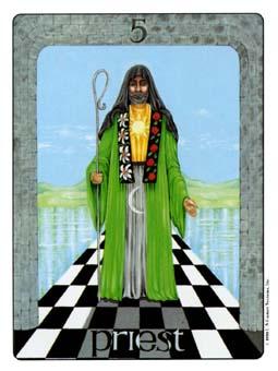 Gill Tarot Deck - The Hierophant