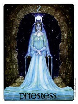 Gill Tarot Deck - The High Priestess