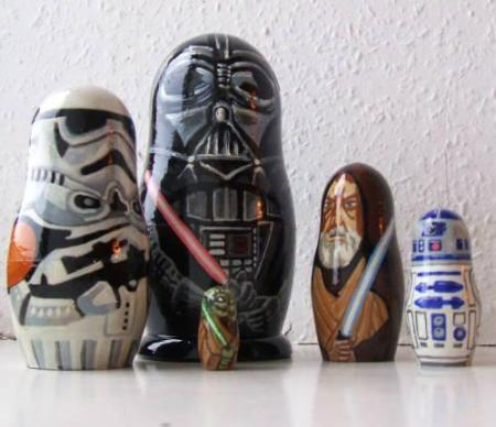 star wars russian dolls